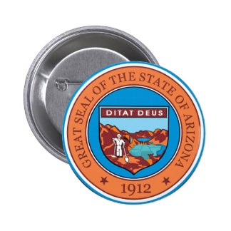 Great seal of the state of Arizona Pins