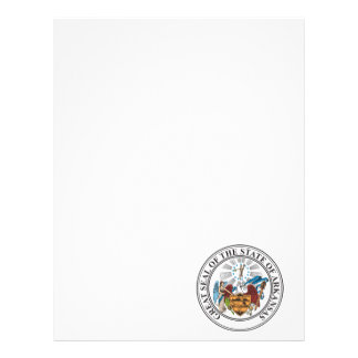 Great seal of the state of Arkansas Letterhead