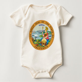 Great seal of the state of California Baby Bodysuit