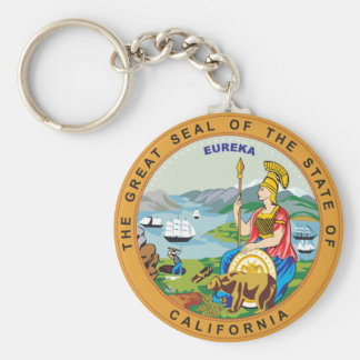 Great seal of the state of California Keychain