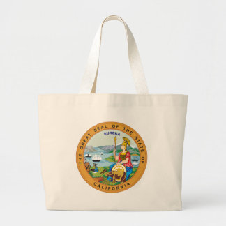 Great seal of the state of California Large Tote Bag