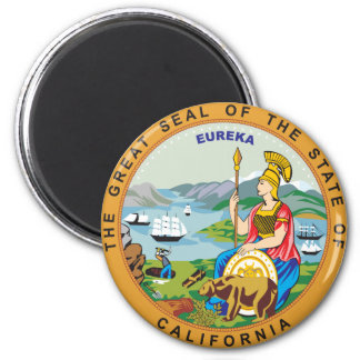 Great seal of the state of California Magnet