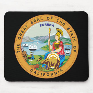 Great seal of the state of California Mouse Pad