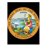 Great seal of the state of California Post Cards
