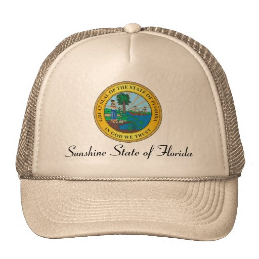 Great seal of the state of Florida Trucker Hat