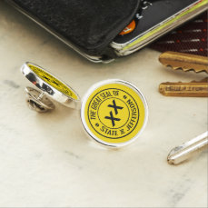 Great Seal of the State of Jefferson Lapel Pin