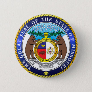 Great seal of the state of Missouri Button