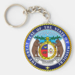 Great seal of the state of Missouri Keychains
