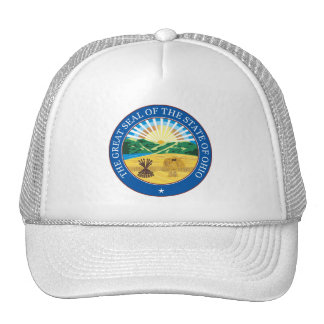 Great seal of the state of Ohio Trucker Hat