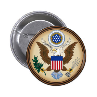 GREAT SEAL OF THE UNITED STATES BUTTON