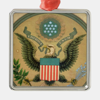 Great Seal of the United States, c.1850 Metal Ornament