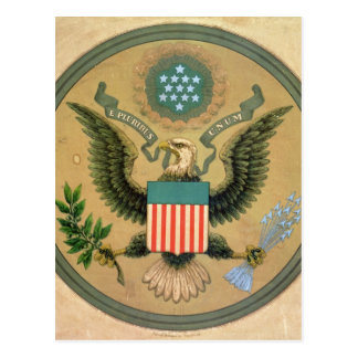 Great Seal of the United States, c.1850 Postcard