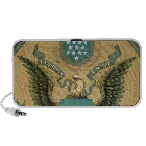 Great Seal of the United States, c.1850 Laptop Speaker