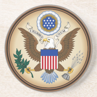 GREAT SEAL OF THE UNITED STATES BEVERAGE COASTER