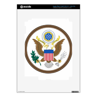 Great Seal of the United States Decal For iPad 3