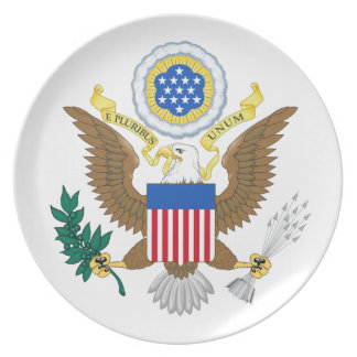Great seal of the United States Dinner Plate