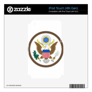 Great Seal of the United States iPod Touch 4G Skins
