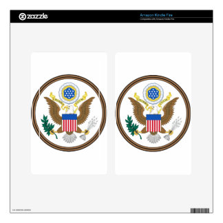 Great Seal of the United States Kindle Fire Decal