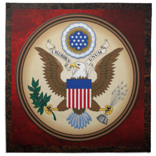 GREAT SEAL OF THE UNITED STATES NAPKIN