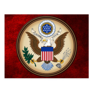 GREAT SEAL OF THE UNITED STATES POSTCARD