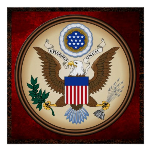 GREAT SEAL OF THE UNITED STATES POSTERS