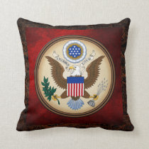 GREAT SEAL OF THE UNITED STATES THROW PILLOW