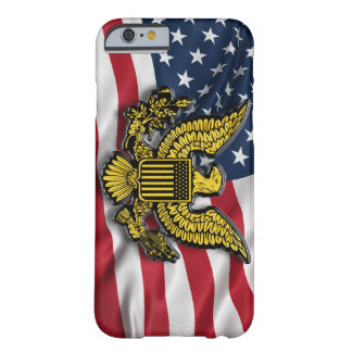 Great seal of the USA with American flag Barely There iPhone 6 Case
