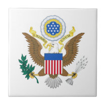 Great seal of United States Ceramic Tile
