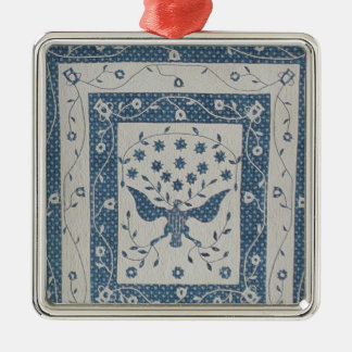 Great Seal of United States Quilt Christmas Tree Ornaments