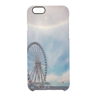 Great Seattle Wheel with Sun Halo Clear iPhone 6/6S Case