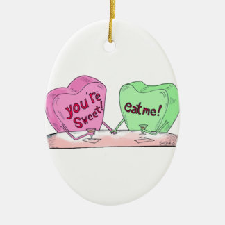 Great Selections From Salpino's Comic, And Now... Ceramic Ornament