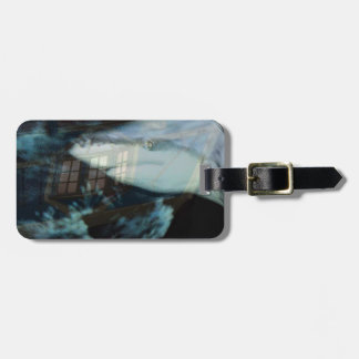 Great Shark and Sunken Ship Luggage Tags