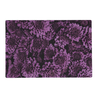 great shimmering flowers purple (I) Placemat