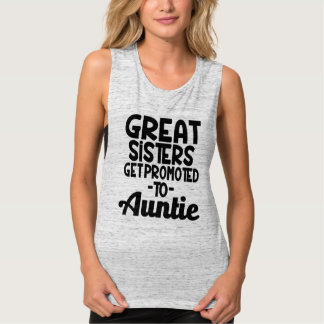 Great Sisters get promoted to Auntie Funny shirt
