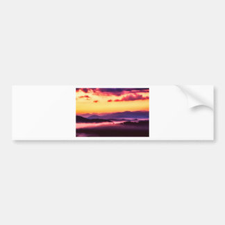 Great Smokey Mountains Bumper Sticker