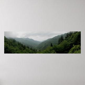 Great Smokey Mountains National Park Panormaic 2 Print