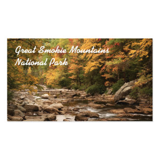 Great Smokie Mountains National Park Double-Sided Standard Business Cards (Pack Of 100)