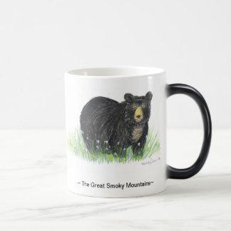 ~Great Smoky Mountain~ Black Bear  black  trim mug