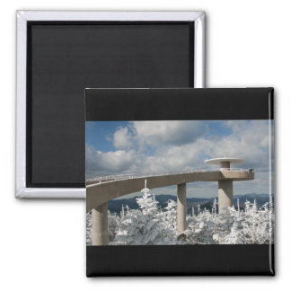Great Smoky Mountain National Park 2 Inch Square Magnet