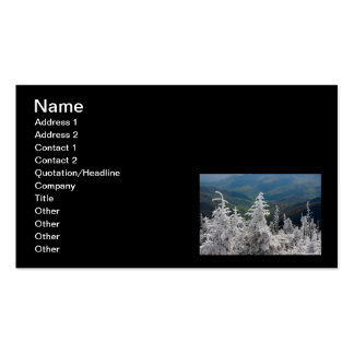 Great Smoky Mountain National Park Business Card