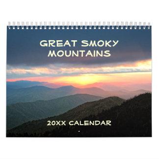 Great Smoky Mountains 12 Month Calendar