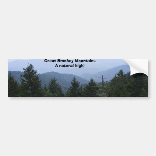 Great Smoky Mountains Car Bumper Sticker