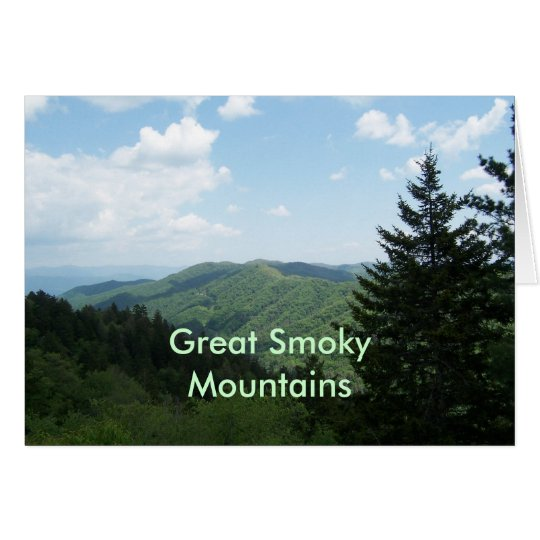 Great Smoky Mountains Card