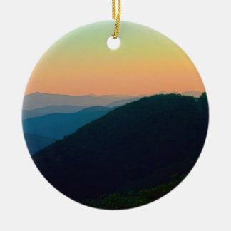 Great Smoky Mountains Ceramic Ornament