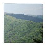 Great Smoky Mountains Ceramic Tile