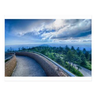 great smoky mountains clingmans dome postcard