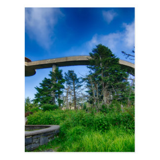 great smoky mountains clingmans dome post cards