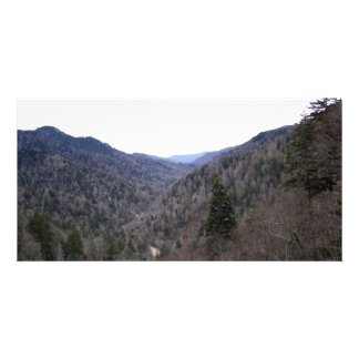 Great Smoky Mountains Cold Day Photo Card Template