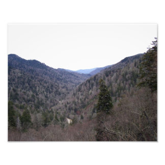 Great Smoky Mountains Cold Day Photo Print