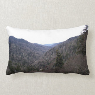 Great Smoky Mountains Cold Day Pillow